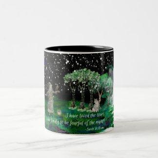 Starry Night 2 Two-Tone Coffee Mug