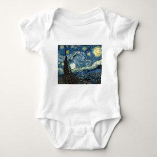 Starry Night Baby Bodysuit
