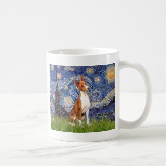 Starry Night - Basenji Coffee Mug