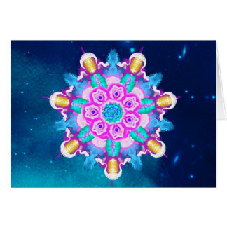 *~* Starry Night Blue, Turquoise Healing Energy Card