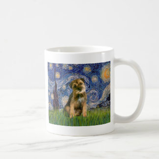 Starry Night - Border Terrier #1 Coffee Mug