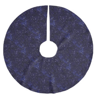 Starry  Night Brushed Polyester Tree Skirt