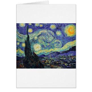 Starry Night by van Gogh Card