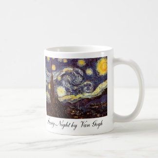 Starry Night by Van Gogh Coffee Mug