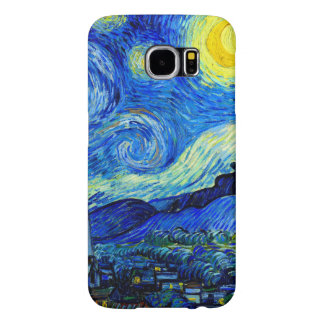 Starry Night by Van Gogh Fine Art Samsung Galaxy S6 Cases
