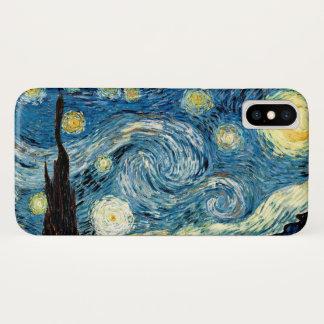 """Starry Night"" by Van Gogh iPhone X Case"