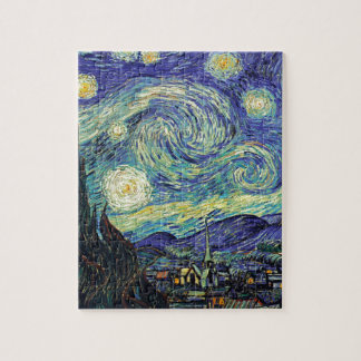 Starry Night by van Gogh Jigsaw Puzzle