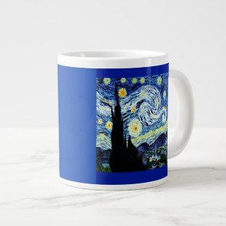 Starry Night by Van Gogh, Jumbo Mug