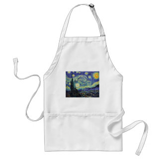 Starry Night by van Gogh Standard Apron