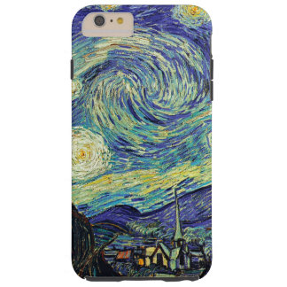 Starry Night by van Gogh Tough iPhone 6 Plus Case