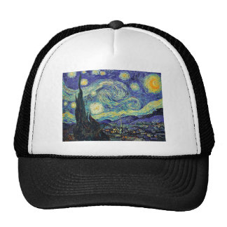 Starry Night by van Gogh Trucker Hat
