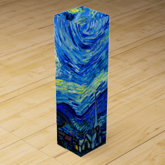Starry Night by Van Gogh Wine Gift Box