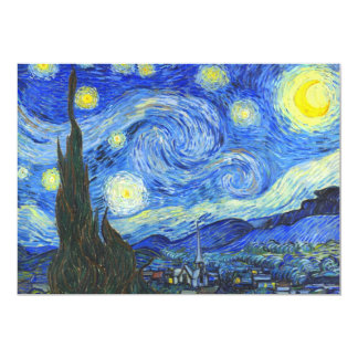 Starry Night by Vincent van Gogh Card