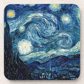 Starry Night By Vincent Van Gogh Coaster