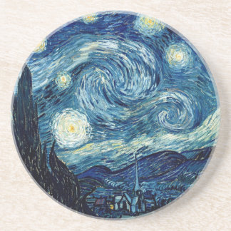 Starry Night By Vincent Van Gogh Coasters