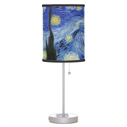 Starry Night by Vincent van Gogh Desk Lamps