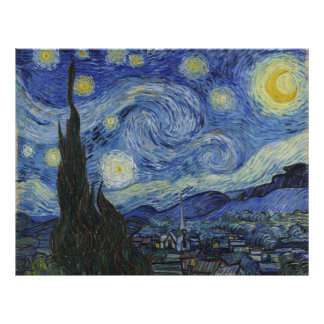Starry Night by Vincent van Gogh Personalized Flyer