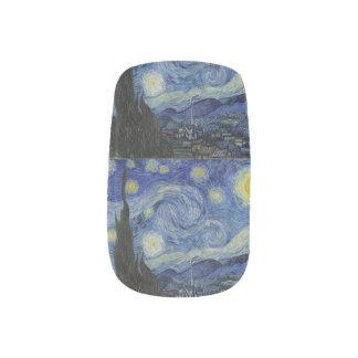 Starry Night by Vincent Van Gogh Minx Nail Art