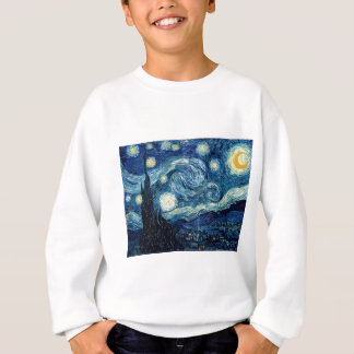 Starry Night By Vincent Van Gogh Sweatshirt