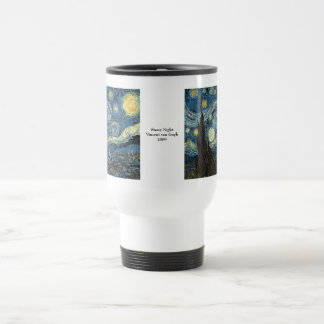 Starry Night by Vincent van Gogh Travel Mug