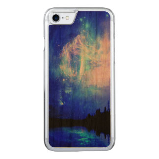 starry night carved iPhone 8/7 case