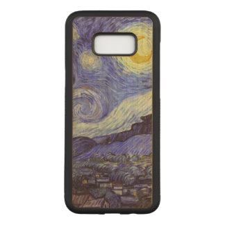 Starry Night Carved Samsung Galaxy S8+ Case