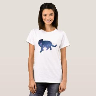 Starry Night Cat Silhouette, Cat Nights T-Shirt