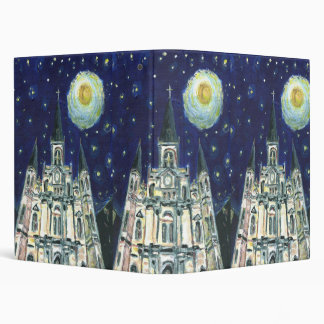Starry Night Cathedral, 3 Ring Binders