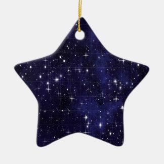 Starry  Night Ceramic Ornament