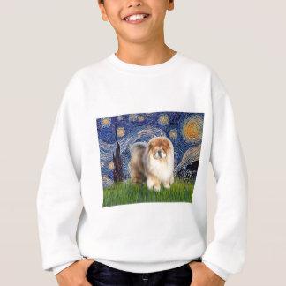 Starry Night - Chow Chow (cream) Sweatshirt