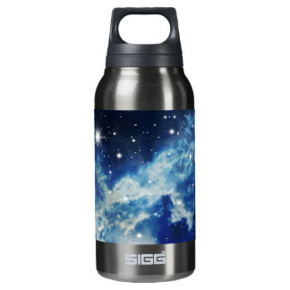 Starry Night Clouds Insulated Water Bottle