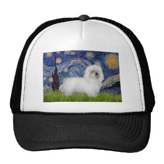 Starry Night - Coton de Tulear 5 Trucker Hat