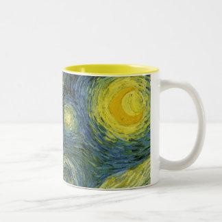 Starry Night Customizable Mug