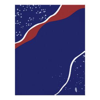 Starry Night Customized Letterhead