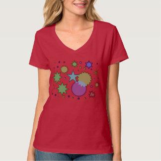 Starry Night Design T-Shirt