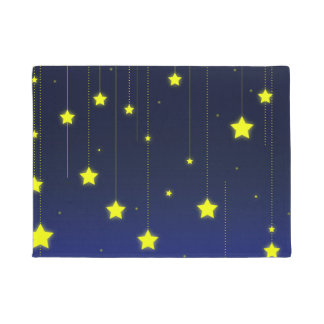 Starry Night door mat