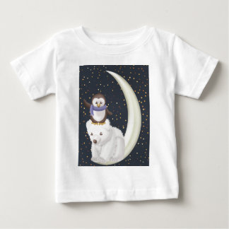 Starry Night Friends Baby T-Shirt