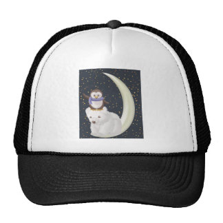 Starry Night Friends Trucker Hat
