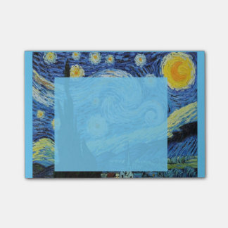 Starry Night in Blue Post-it Post-it Notes