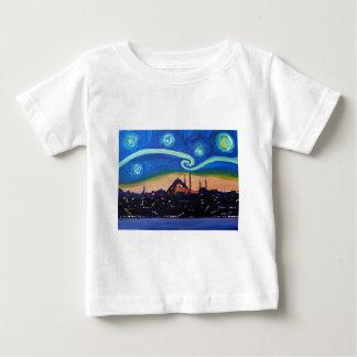 Starry Night in Istanbul Turkey Baby T-Shirt