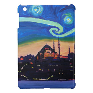 Starry Night in Istanbul Turkey Case For The iPad Mini