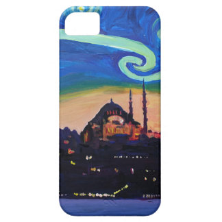 Starry Night in Istanbul Turkey Case For The iPhone 5