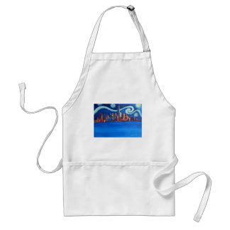 Starry Night in New York City - Freedom Tower Standard Apron
