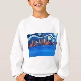 Starry Night in New York City - Freedom Tower Sweatshirt