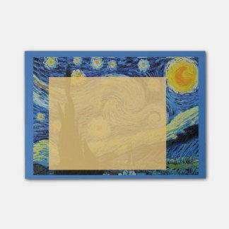 Starry Night in Orange Post-it Post-it® Notes
