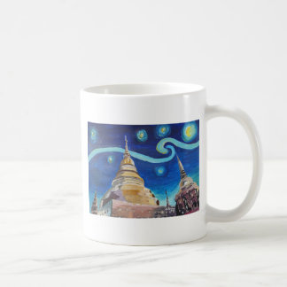 Starry Night in Thailand - Van Gogh Inspirations Coffee Mug