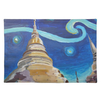 Starry Night in Thailand - Van Gogh Inspirations Placemat