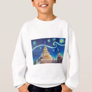 Starry Night in Thailand - Van Gogh Inspirations Sweatshirt