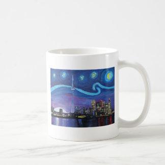 Starry Night in Toronto with Van Gogh Inspirations Coffee Mug
