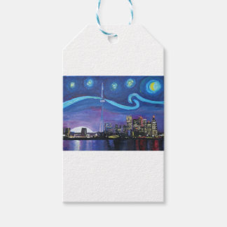 Starry Night in Toronto with Van Gogh Inspirations Pack Of Gift Tags
